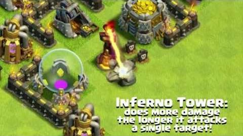 Inferno Tower - Clash of Clans Wiki