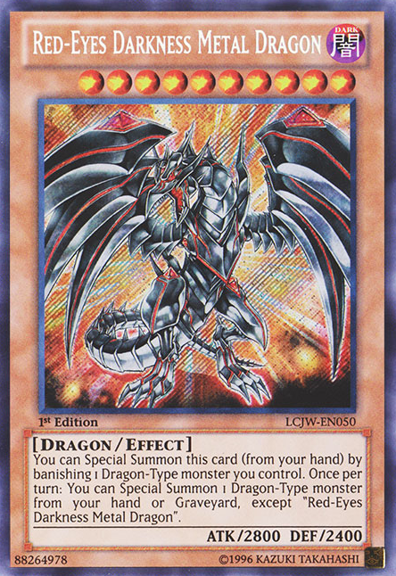 how to make a good red eyes deck