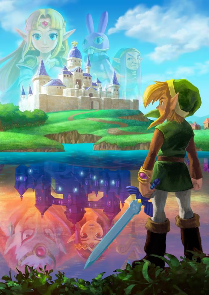 File The Legend of Zelda A Link Between Worlds poster artwork jpgA Link Between Worlds Poster
