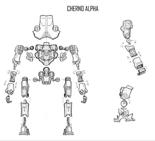 cherno alpha  action figure  series three