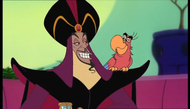 iago artist of villainy He is voiced by gilbert gottfried iago is a scarlet macaw able to mimic anyone's voice and villainy in aladdin sword art final space ash v evil dead.