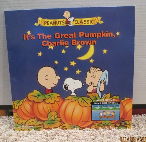 charlie brown abcs halloween programming kicked off thursday night with the 1966 special its the great pumpkin charlie brown video photos 7 on