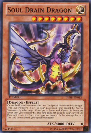 Soul Drain Dragon - Yu-Gi-Oh! - It's time to Duel!