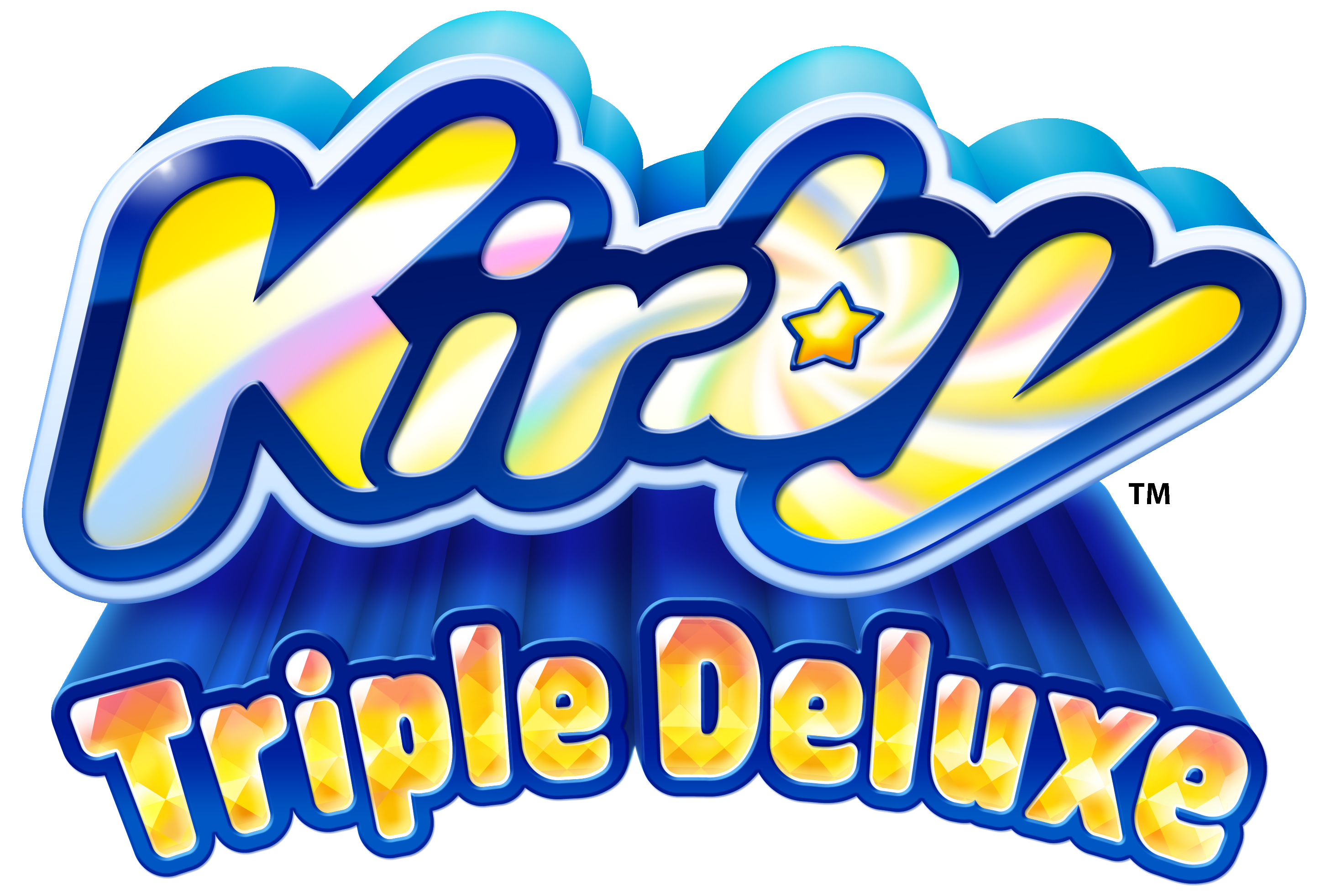 Kirby Triple Deluxe | 3DS Kirby_Triple_Deluxe_logo