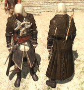 AC4 Brown Cloak outfit