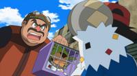 ¡A la caza del comprador Pokémon! ¡¡La impresionante estrategia de Spewpa!!
