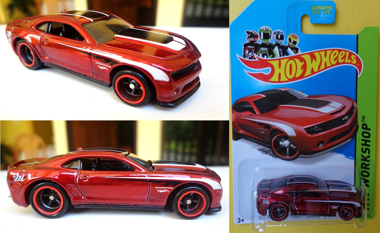 2013 hot wheels chevy camaro special edition metalflake burgundy black