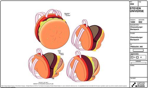 500px-Cheeseburger B pack sheet jpgSteven Universe Redesign