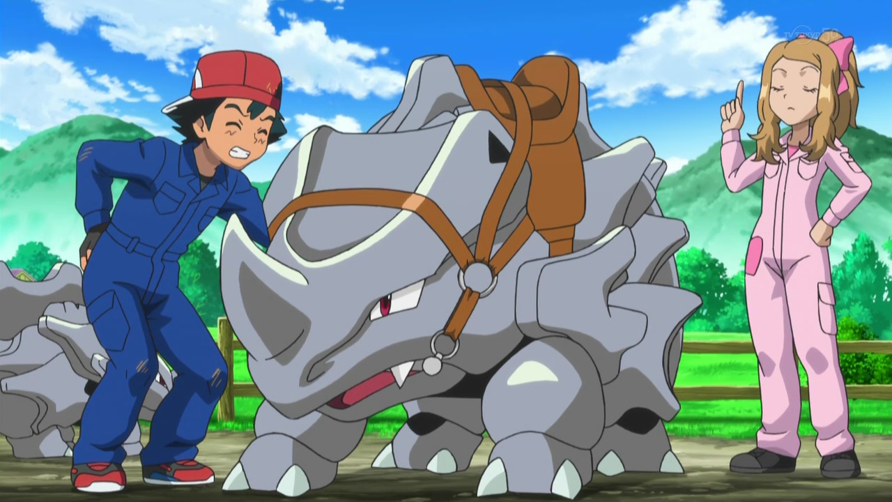 X And Y Anime Characters : Xy