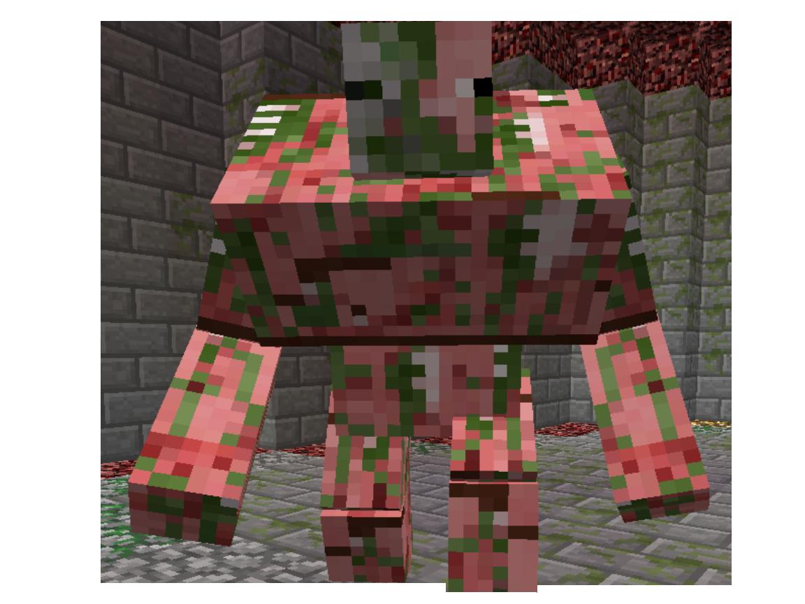 Mutant zombie pigman vs mutant zombie - photo#1