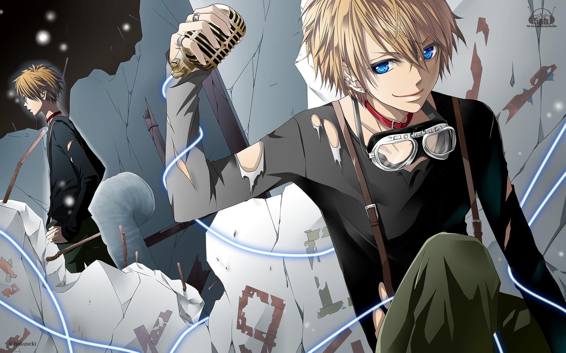 """Zander """"Z"""" Zeke Anime-guy-wallpapers"""