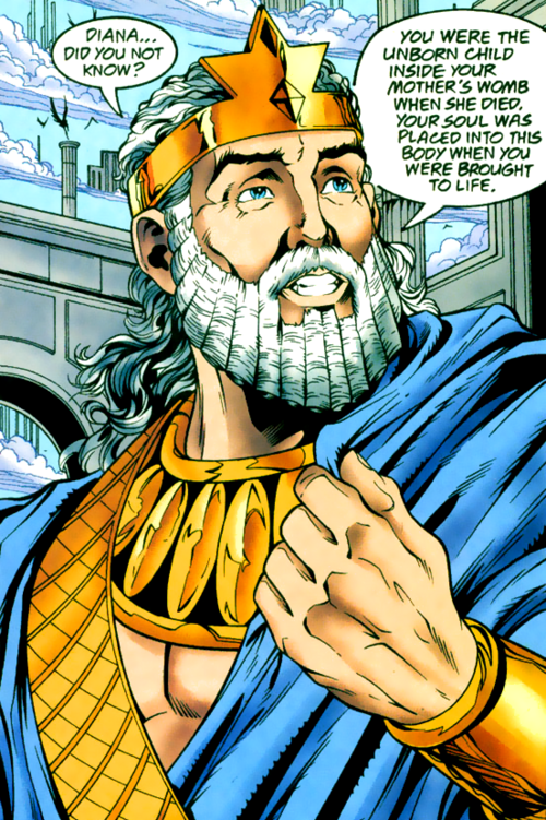 Zeus (New Earth) - DC Comics Database