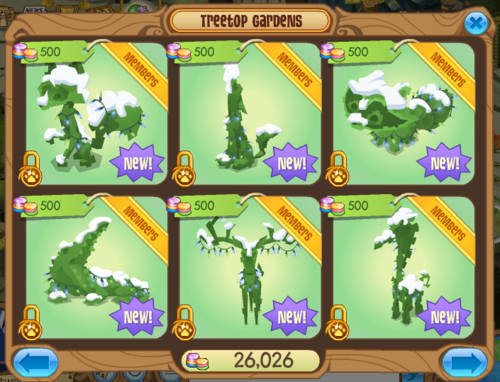Lit topiaries animal jam wiki