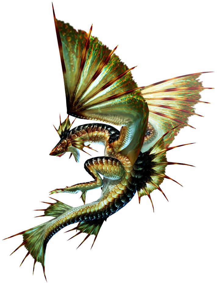 Plesioth the monster hunter wiki monster hunter for Piscine wyvern