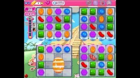 Candy Crush Saga Level 323 - NO BOOSTER - NEW (02:39)