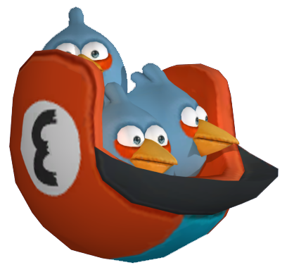 Image - ANGRY BIRDS GO THE BLUES CGI.png - Angry Birds Wiki