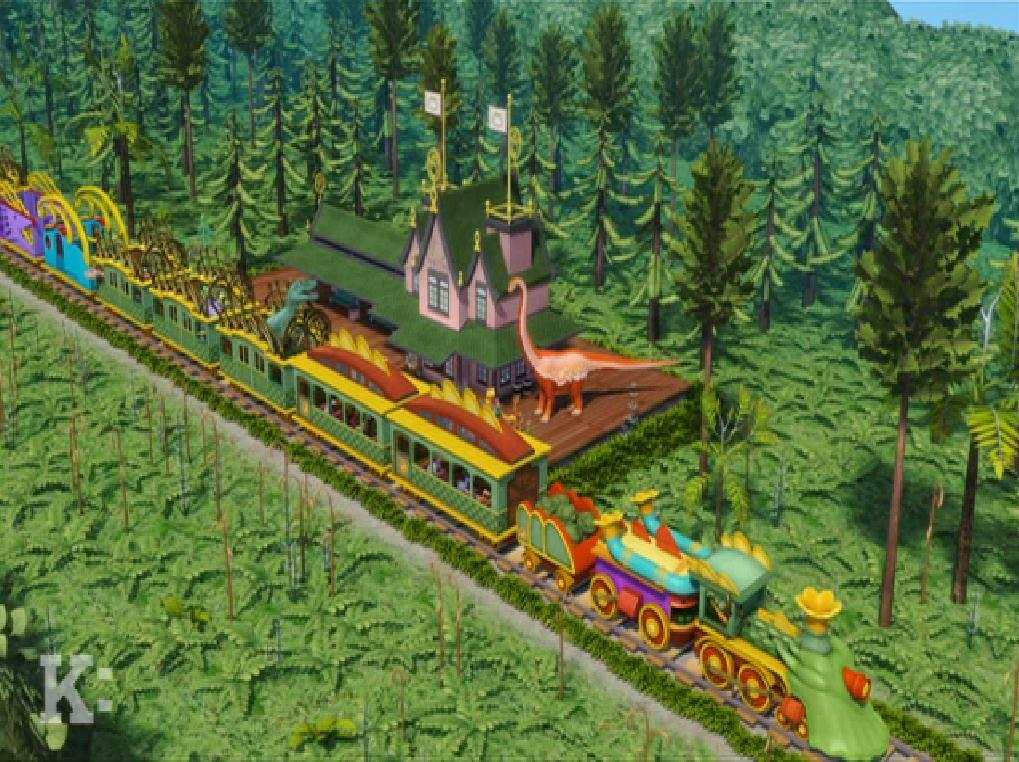 Zigongosaurus Zenith Station - Dinosaur Train Wiki