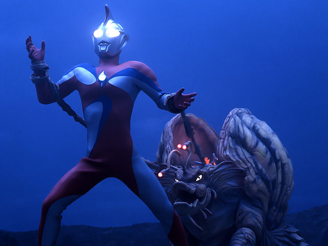 Ultraman Cosmos vs Jelga