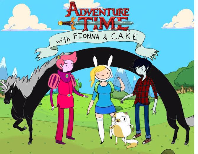 finn and jake meet fionna cake chapter 4