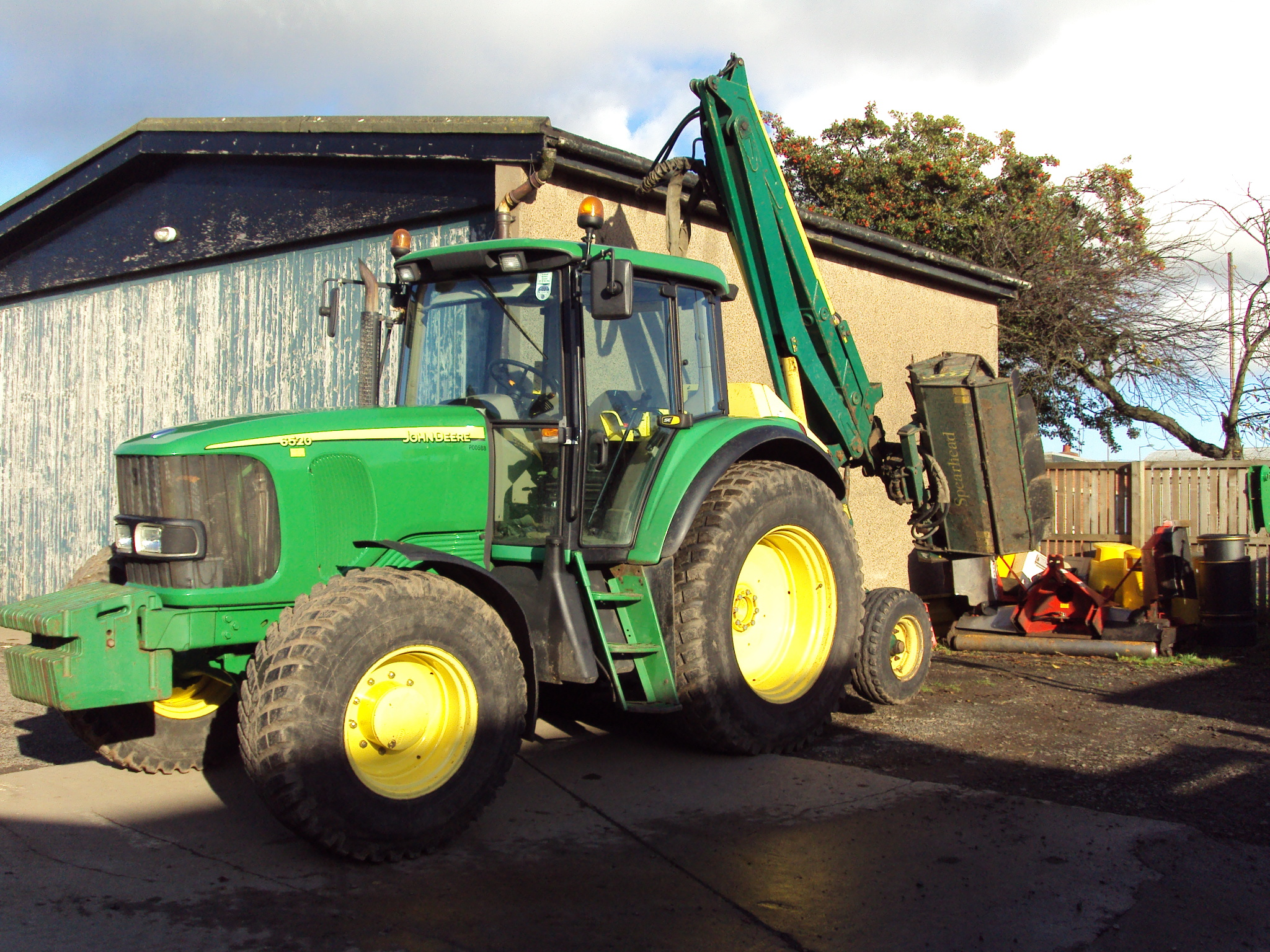 john deere 6520 se - tractor & construction plant wiki