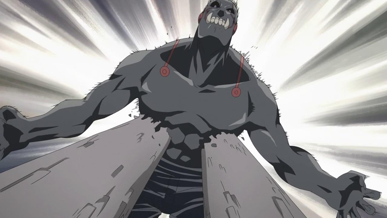 Image - Ep13 - Greed Impaled.png - Fullmetal Alchemist ...